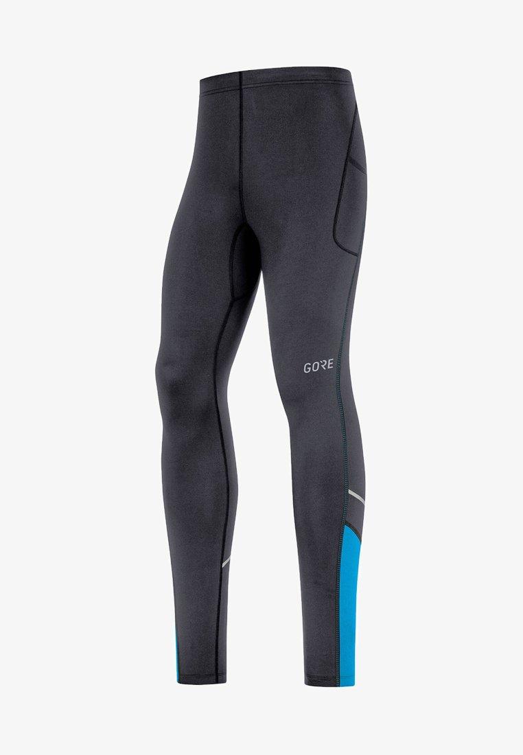 Gore Running Wear - R3 MID - Leggings - black/blue