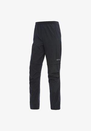 HERREN R3 GORE WINDSTOPPER ZIP-OFF - Pantalon classique - schwarz