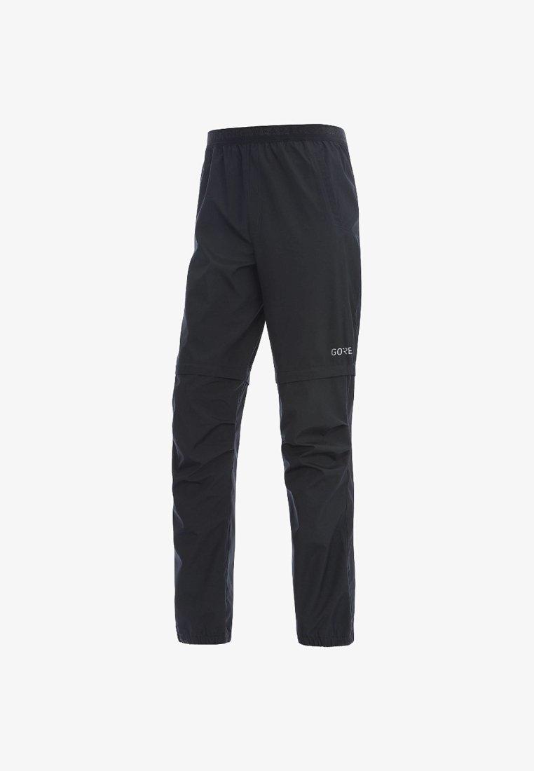 Gore Wear - HERREN R3 GORE WINDSTOPPER ZIP-OFF - Pantalon classique - schwarz
