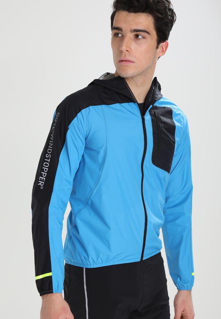 Gore Wear - R7 WINDSTOPPER LIGHT - Sports jacket - dynamic cyan/black