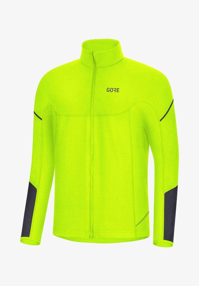 Training jacket - neon green
