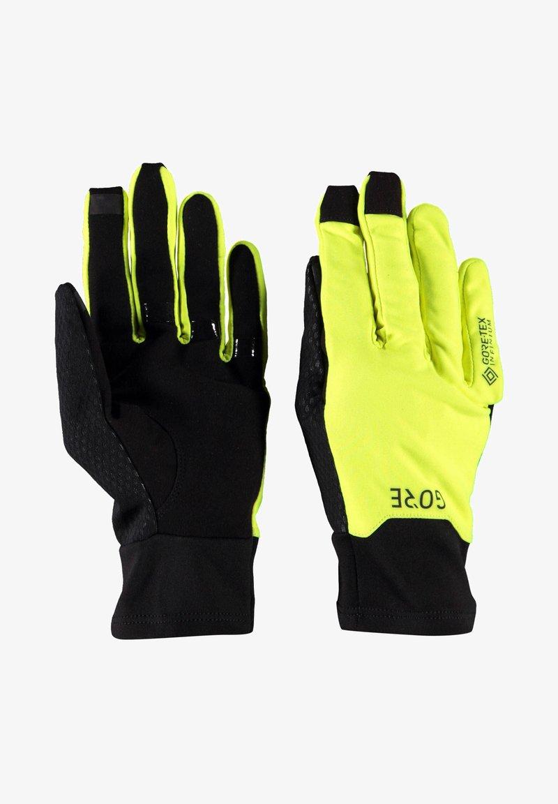 Gore Running Wear - INFINIUM - Gloves - yellow/black