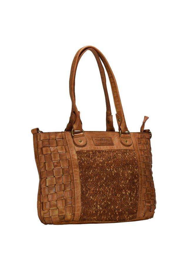 FEMI AND NINE  - Shopping Bag - cognac