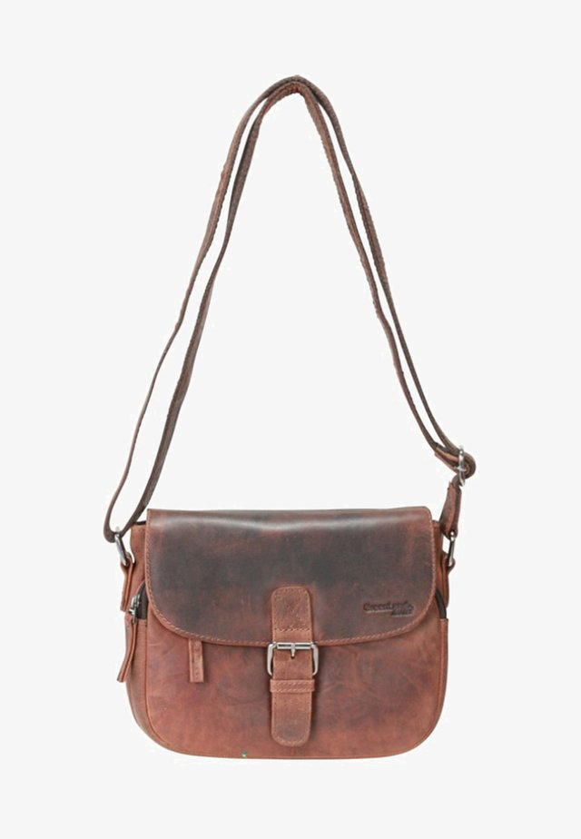 MONTANA  - Sac bandoulière - brown