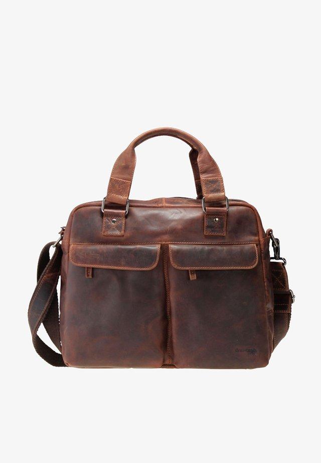 MONTANA - Briefcase - brown