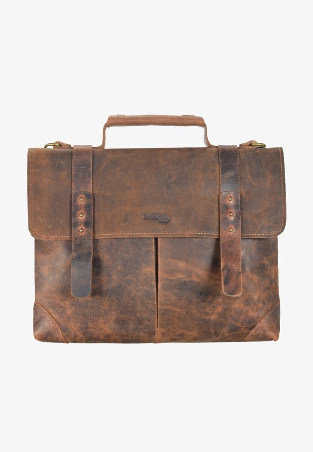 CLASSIC - Briefcase - brown