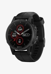 Garmin - FĒNIX 5S PLUS SAPHIRE GPS-MULTISPORT MIT HERZFREQUENZMESSUNG  - Heart rate monitor - black - 0