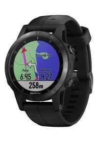 Garmin - FĒNIX 5S PLUS SAPHIRE GPS-MULTISPORT MIT HERZFREQUENZMESSUNG  - Heart rate monitor - black - 2