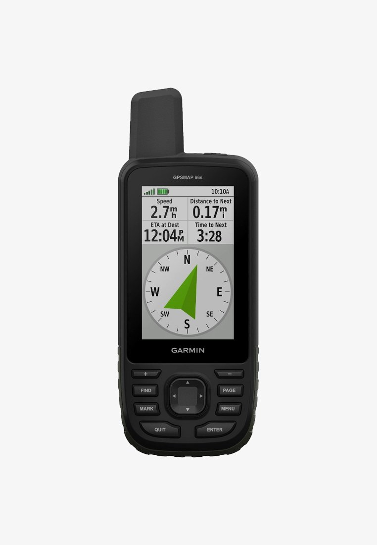 Garmin - GPSMAP 66S - Other - black