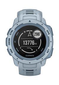 Garmin - GPS-MULTISPORT-SMARTWATCH INSTINCT - Smartwatch - light blue - 4