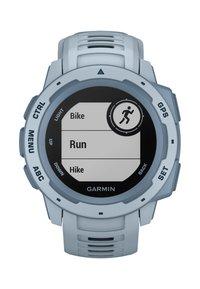 Garmin - GPS-MULTISPORT-SMARTWATCH INSTINCT - Smartwatch - light blue - 5