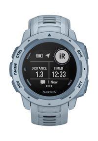 Garmin - GPS-MULTISPORT-SMARTWATCH INSTINCT - Smartwatch - light blue - 7