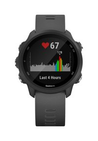 """Garmin - GARMIN GPS-LAUFUHR """"FORERUNNER 245"""" GRAUES ARMBAND - Smartwatch - black - 5"""
