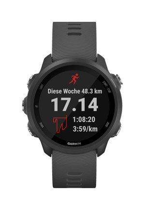 """GARMIN GPS-LAUFUHR """"FORERUNNER 245"""" GRAUES ARMBAND - Smartwatch - black"""