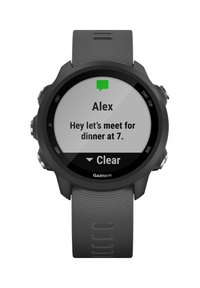 """Garmin - GARMIN GPS-LAUFUHR """"FORERUNNER 245"""" GRAUES ARMBAND - Smartwatch - black - 9"""
