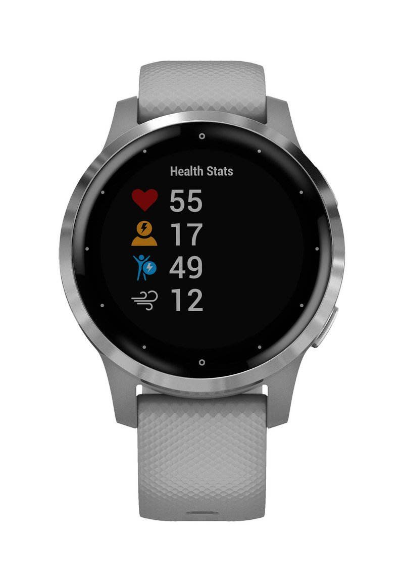 "Garmin - GARMIN GPS-MULTIFUNKTIONSUHR ""VIVOACTIVE 4 S"" - Smartwatch - grey"