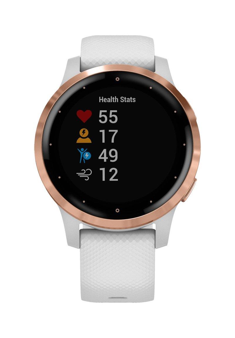 """Garmin - GARMIN GPS-MULTIFUNKTIONSUHR """"VIVOACTIVE 4 S"""" - Smartwatch - white"""