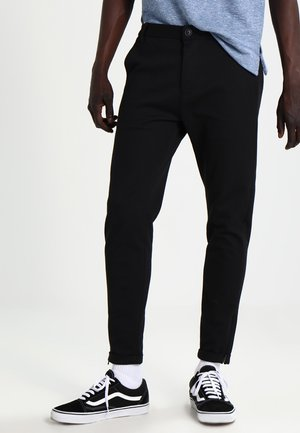 PISA - Chino kalhoty - black