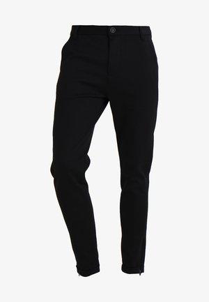 PISA - Pantalones chinos - black