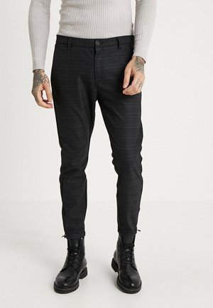PISA CHINO NIGHT BALANCE  - Bukse - blue check