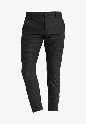PISA CHINO NIGHT BALANCE  - Kalhoty - blue check