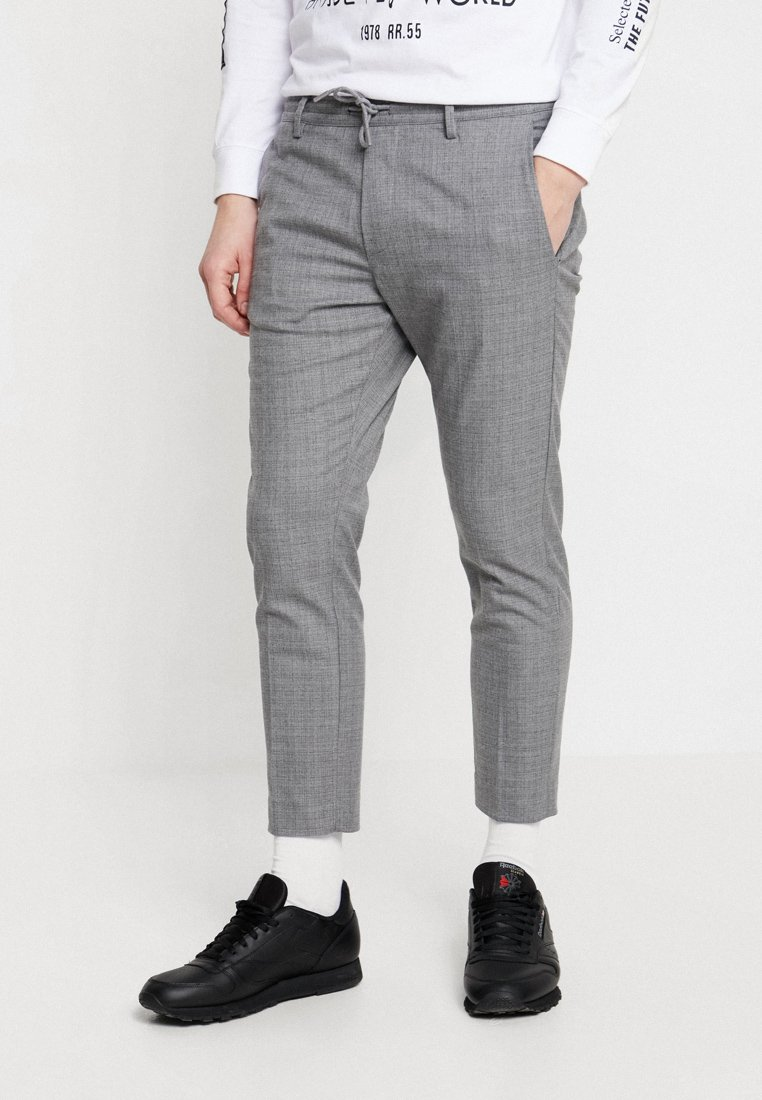 Gabba - PHILIP CROSS CROPPED - Bukse - light grey