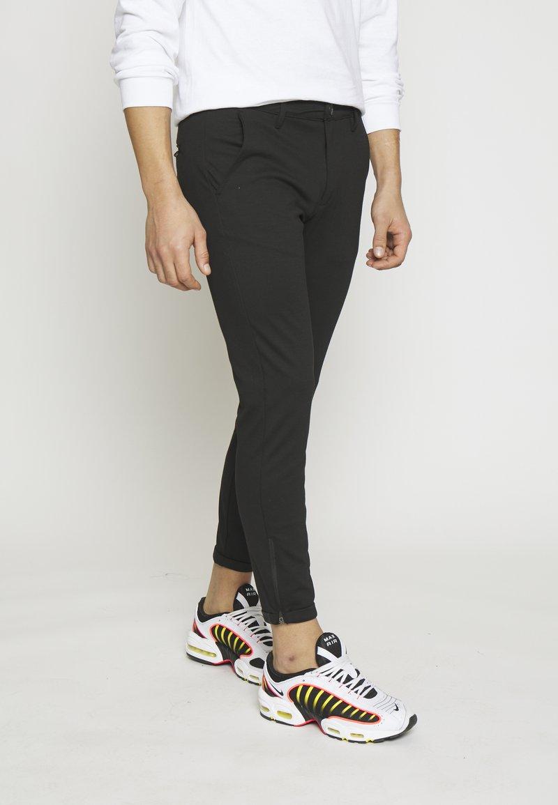 Gabba - PISA PANT - Chino kalhoty - black