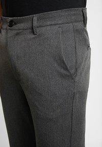 Gabba - ROME PANTS - Kangashousut - grey melange - 3