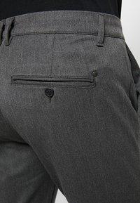 Gabba - ROME PANTS - Kangashousut - grey melange - 5