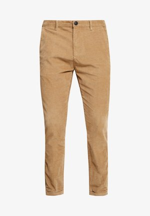 PISA PANTS - Tygbyxor - light sand