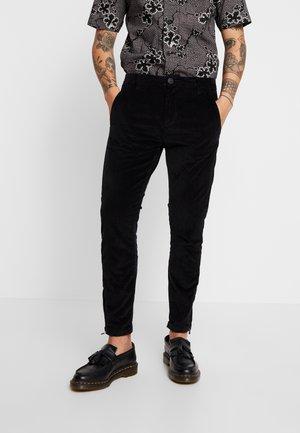 PISA PANTS - Bukse - black