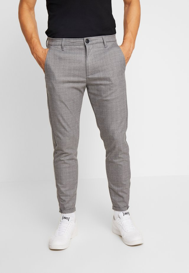 PISA CROSS - Stoffhose - light grey