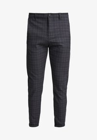 Gabba - PISA REDUE PANTS - Pantalon classique - grey check - 5