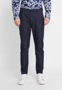 Gabba - ROME CHECK PANTS - Bukse - blue - 0
