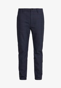 Gabba - ROME CHECK PANTS - Bukse - blue - 3