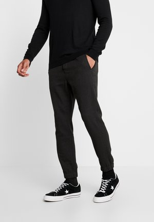 CLUB HERRING PANT - Joggebukse - charcoal grey