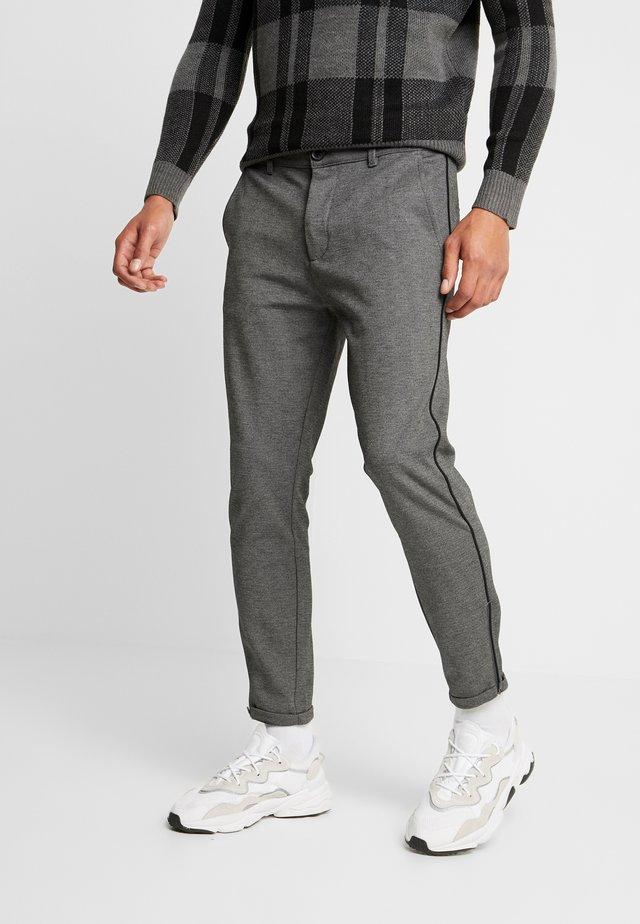 PISA PIPE PANT - Pantalon classique - grey melange