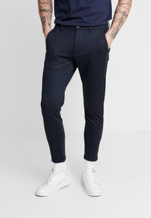 PISA PINSTRIPE - Chinot - navy pin