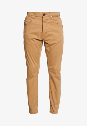 ALEX PANT - Spodnie materiałowe - sand