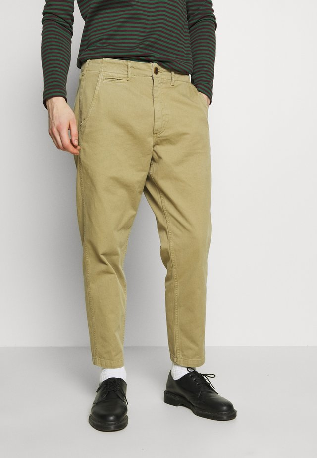 TOKYO PANTS  - Spodnie materiałowe - sand