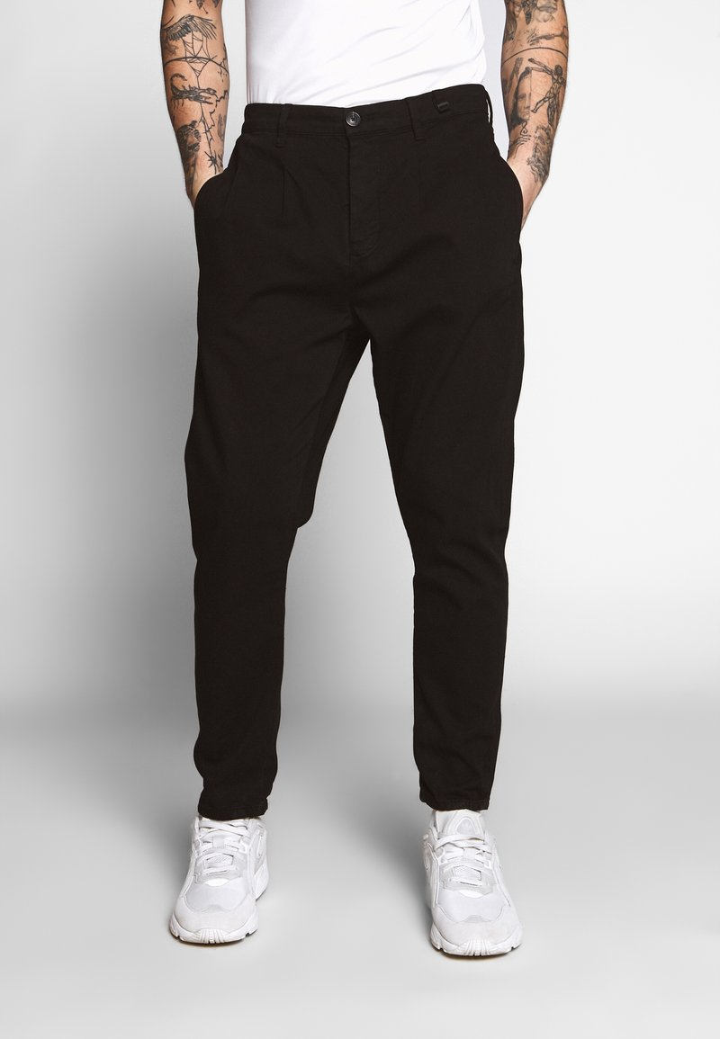 Gabba - FIRENZE PANT - Bukse - black