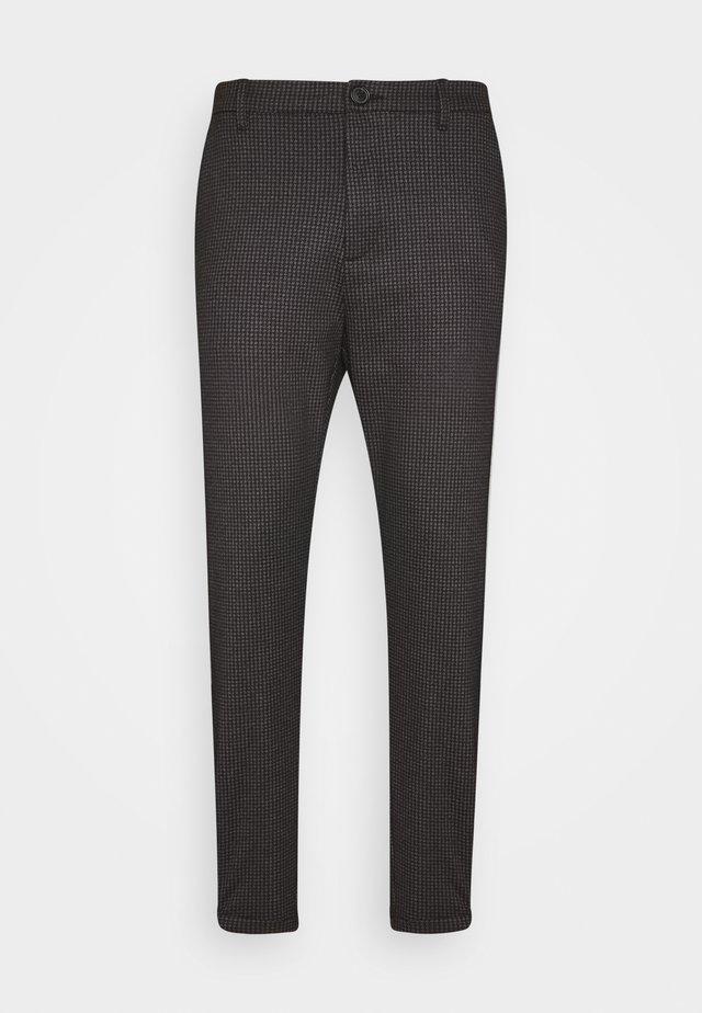 PISA HOUND PANT - Trousers - black
