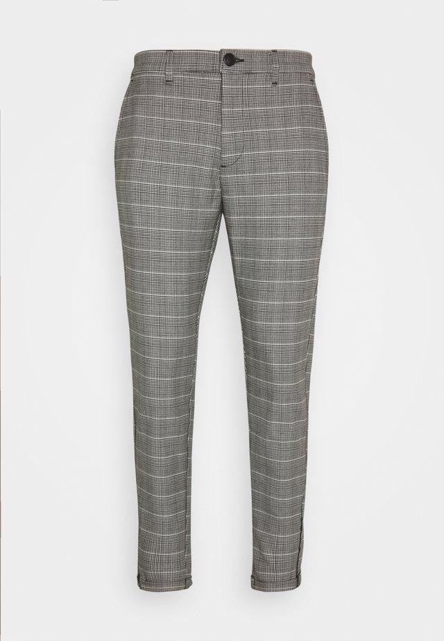 PISA PETIT CHECK - Trousers - brown
