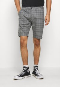 Gabba - JASON BIG CHECK - Shorts - grey - 0