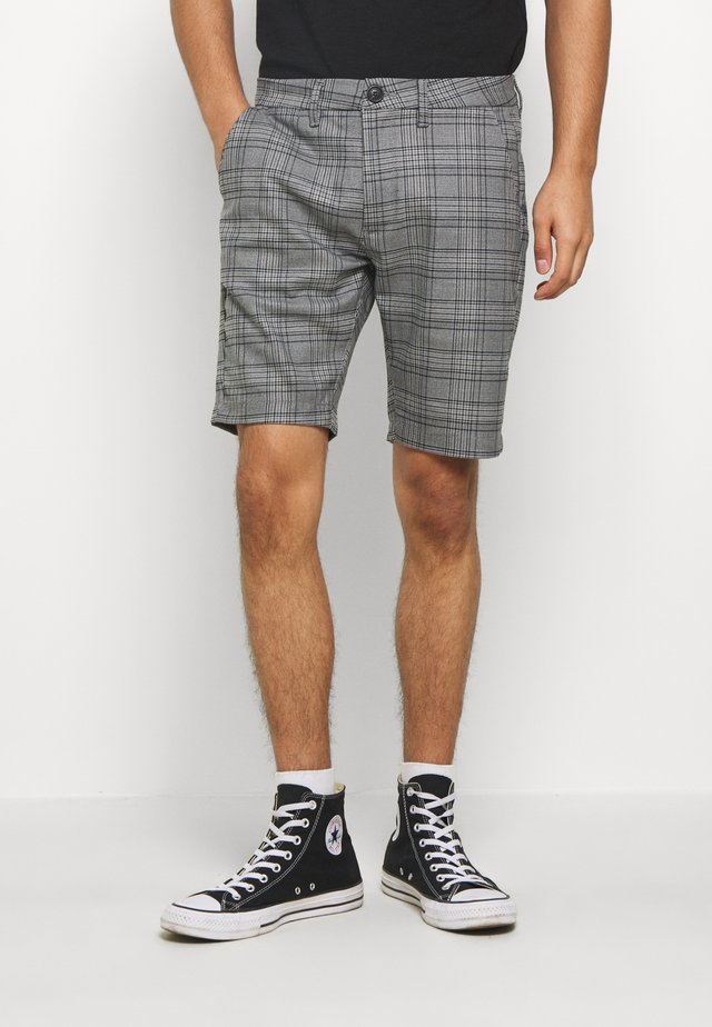 JASON BIG CHECK - Short - grey
