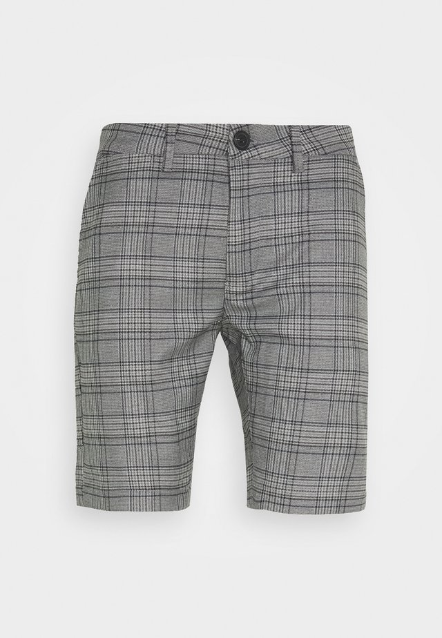 JASON BIG CHECK - Shorts - grey