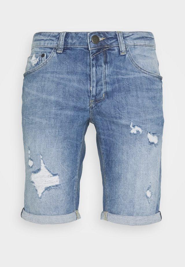 JASON - Short en jean - blue denim