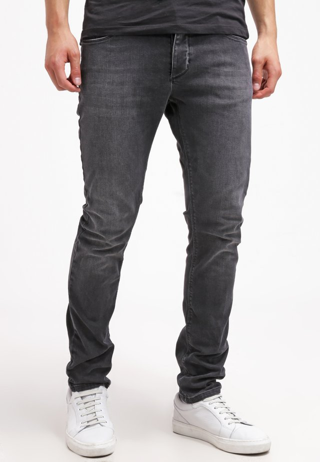 REY THOR - Jeansy Slim Fit - grey