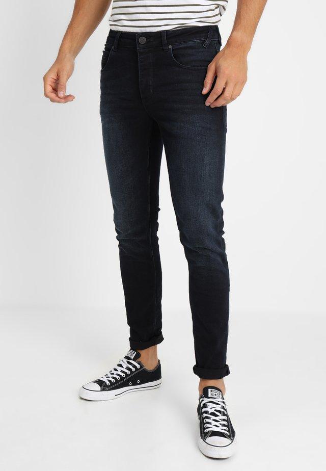 REY  - Džíny Slim Fit - blue/black