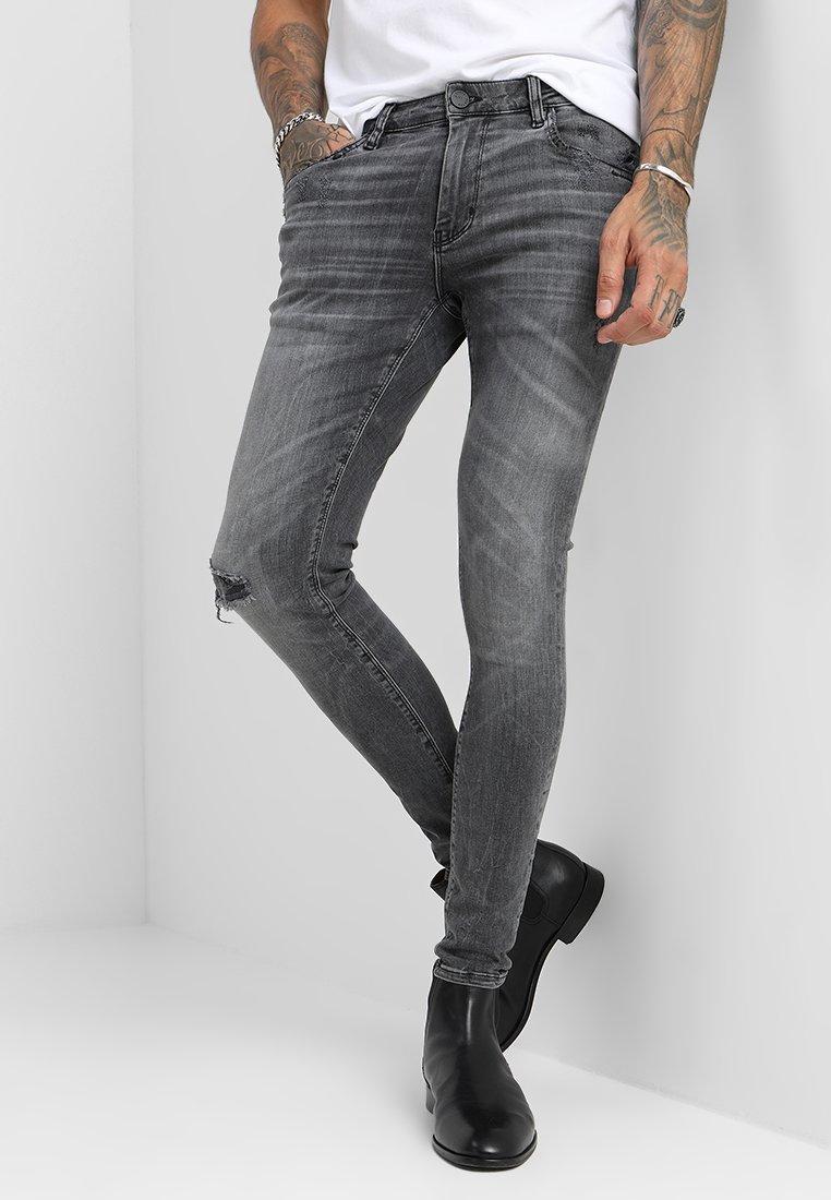 Gabba - IKI - Slim fit jeans - light grey